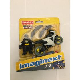 Imaginext Batman Com Moto E Bumerangs - Edição Antiga