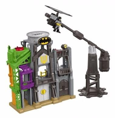 imaginext batman torre de voo gotham city  c/ nota fiscal