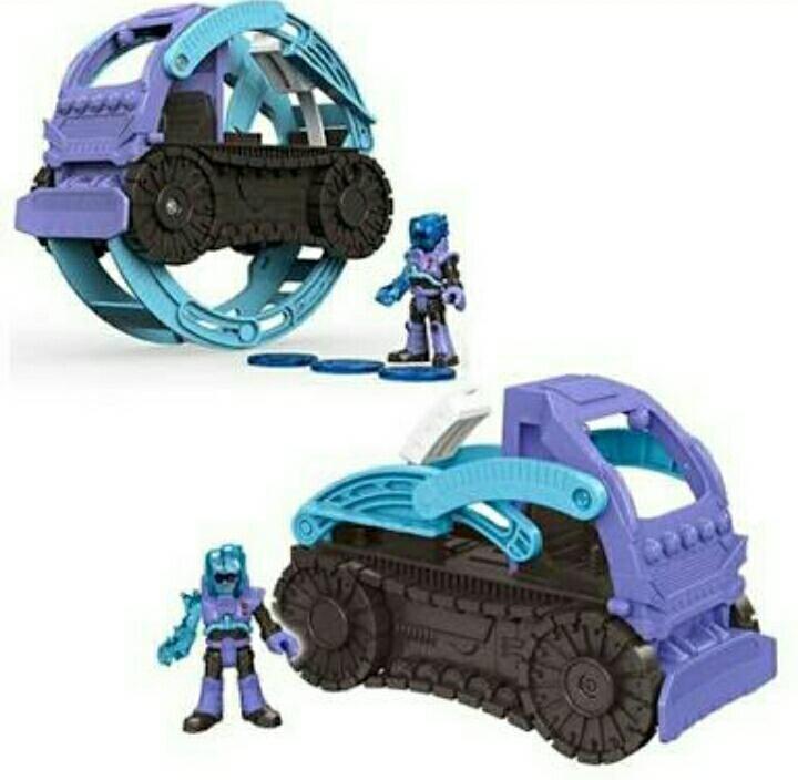 Imaginext Mr Freeze Snowcat DTN10 Fisher-Price DC Super Friends