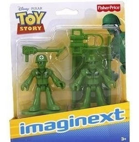 imaginext dc - toy store - soldados - fisher price