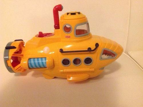 imaginext submarino ataque resgate