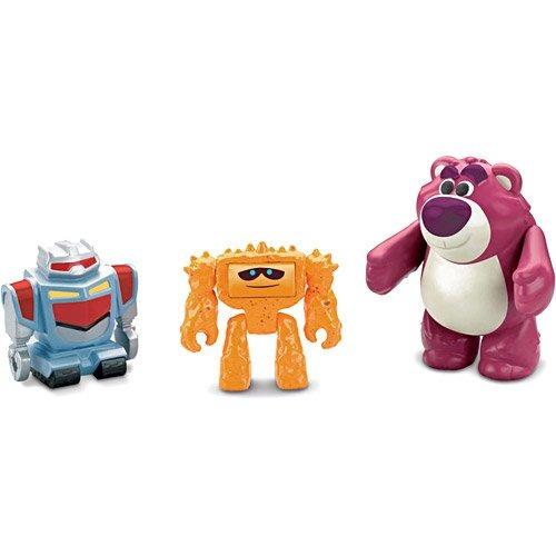 imaginext toy story 3 coisa, sparky e lotso mattel t2738/t27