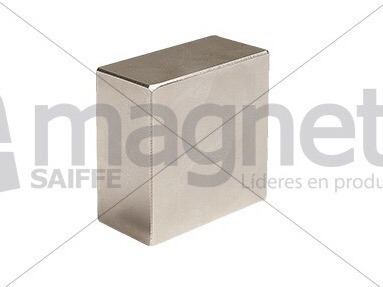 iman block neodimio 50mm x 50mm x 25mm n35