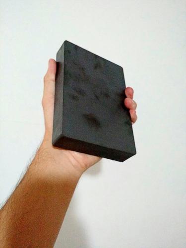 imán bloque ferrita 3,850 gauss super imán cb185y35