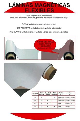 iman c/ pvc blanco p/imprim anc0.61m palopoli espesor 0.38mm