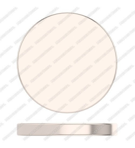 imán de neodimio de 16mm x 2mm cilindro disco broche