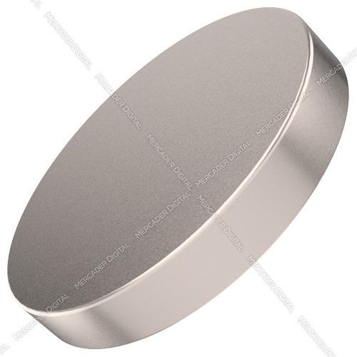 imán de neodimio de 20mm x 3mm cilindro disco broche