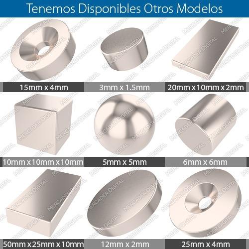 imán de neodimio de 3mm x 5mm cilindro disco broche