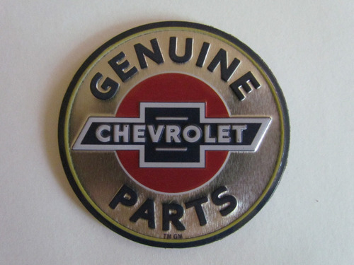 iman emblema chevrolet refrigerador casa taller oficina auto
