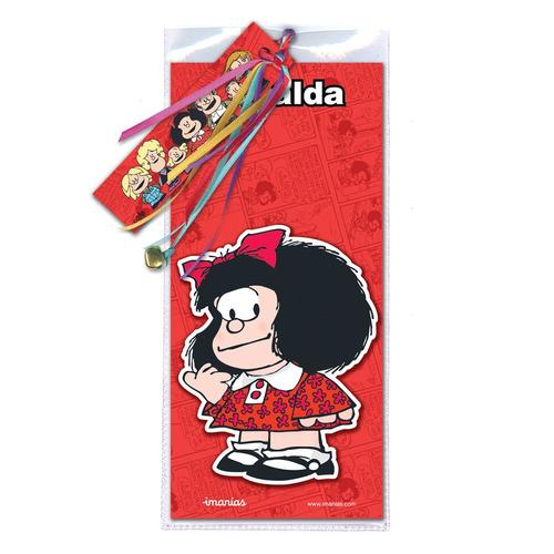 imán mafalda colección roja - barrancas de belgrano