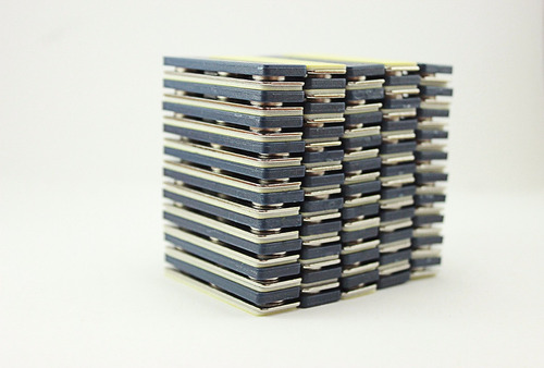 imán porta gafete magnético neodimio 3 puntos (50 piezas)