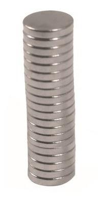 iman redondo neodimio 6 x 1 mm blister con 20 piezas n35 obi