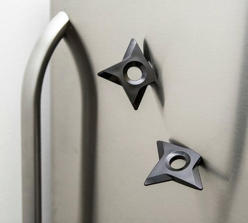 iman refrigerador estrella ninja organiza mensajes magneto
