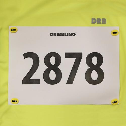 iman running drb para fijar numero marathon cartel logo
