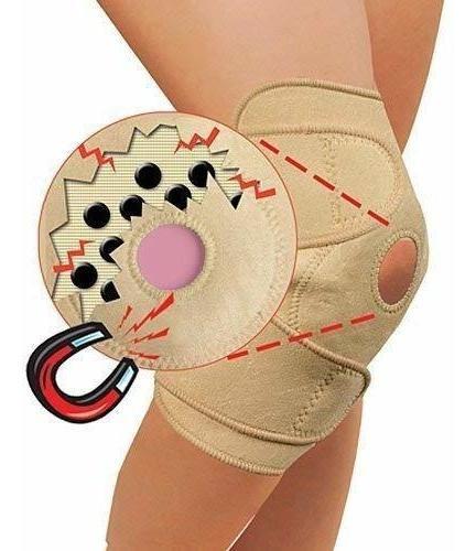 imán terapia rodilla brace supportaumentar la circulac