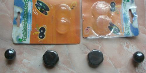iman tipo esfera redondo magnetico - 1cm de radio