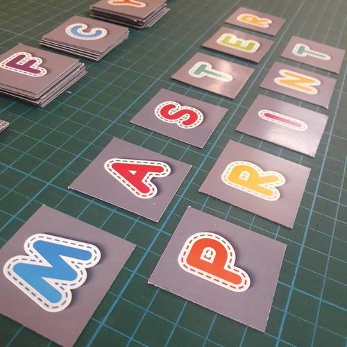 imanes abecedario - 70 letras de 4 cm