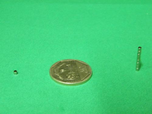 imanes de neodimio 2mm x 2mm - 3 soles x pack 10 unidades