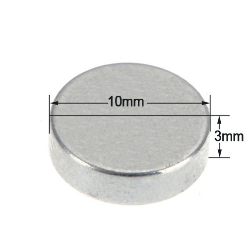 imanes de neodimio de 10x 3mm