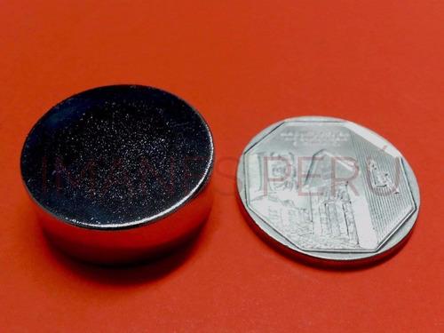 imanes de neodimio discos 25*10 mm