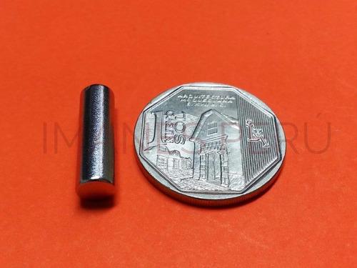 imanes de neodimio discos 6*20 mm pack de 5 unidades