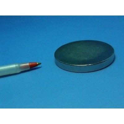 imanes de neodimio/disco magnético 50mmx5mm grado n50