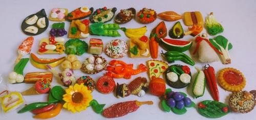 imanes decorativos para refrigerador figuras 100 piezas