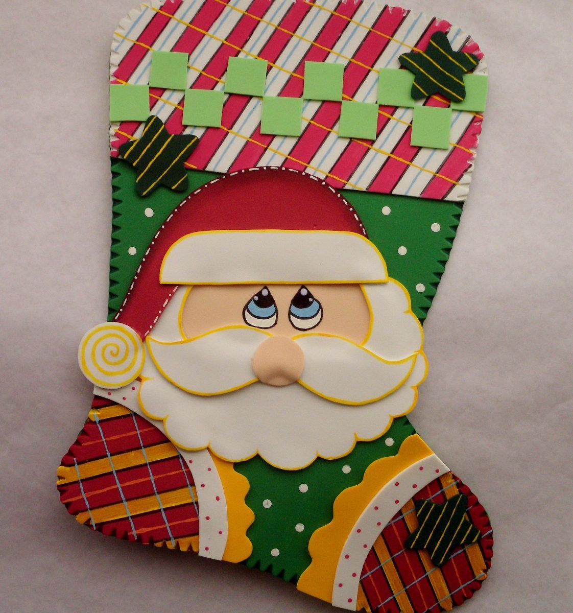 Imanes Figuras Navidad Foami Nacimiento Adorno Decoracion Bs