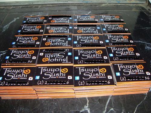 imanes magneticos publicitarios (pack 50 unid)