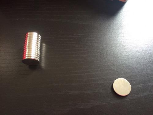 imanes neodimio 20x3 mm sin forrar n52
