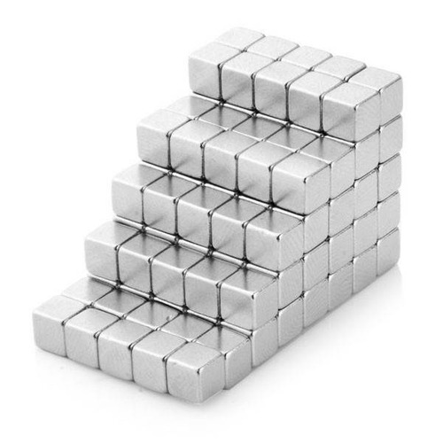 imanes neodimio cúbicos 4mm  imán juego lote 25 unidades