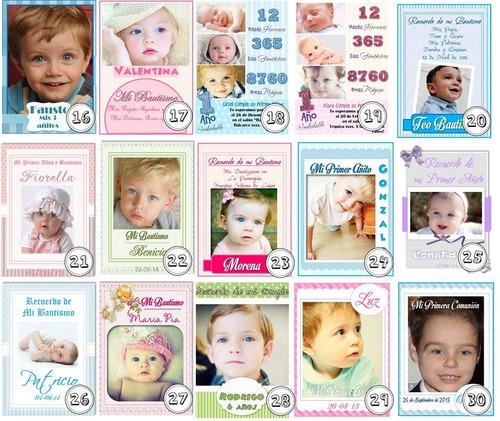 imanes personalizados 24 souvenir foto imanes/invitaciones