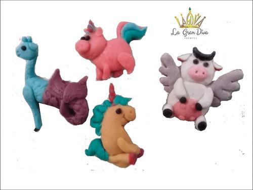imanes p/refri,  animalitos fantásticos, 12packs de 4pzs.c/u