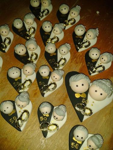 imanes recuerdo - souvenirs bodas de oro