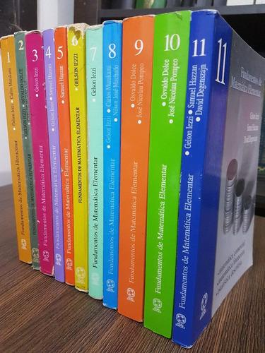 ime ita fundamentos de matemática elementar 11 vols