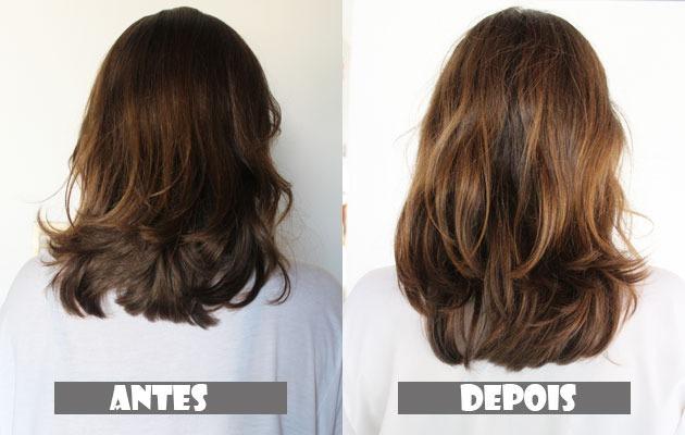 Imecap hair antes e depois