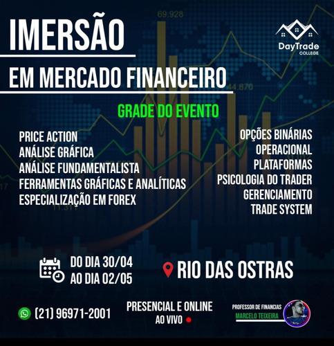 imersão em mercado financeiro on line ao vivo