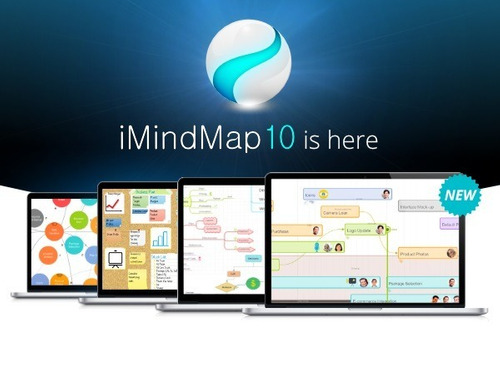 imindmap 10  2018 +português+vídeo instalação+envio imediato