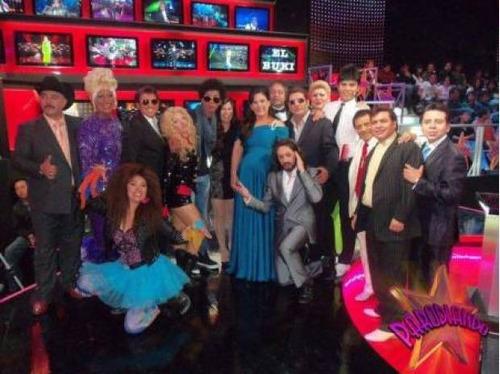 imitadores y comediantes de television show de alto nivel