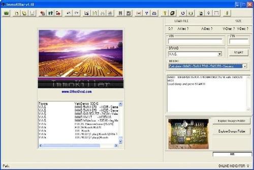 immokiller 1.10 software desinmovilización ecus multimarca