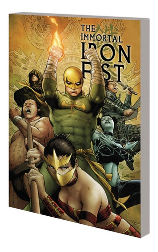 immortal iron fist vol. 01-02 - marvel comics - robot negro
