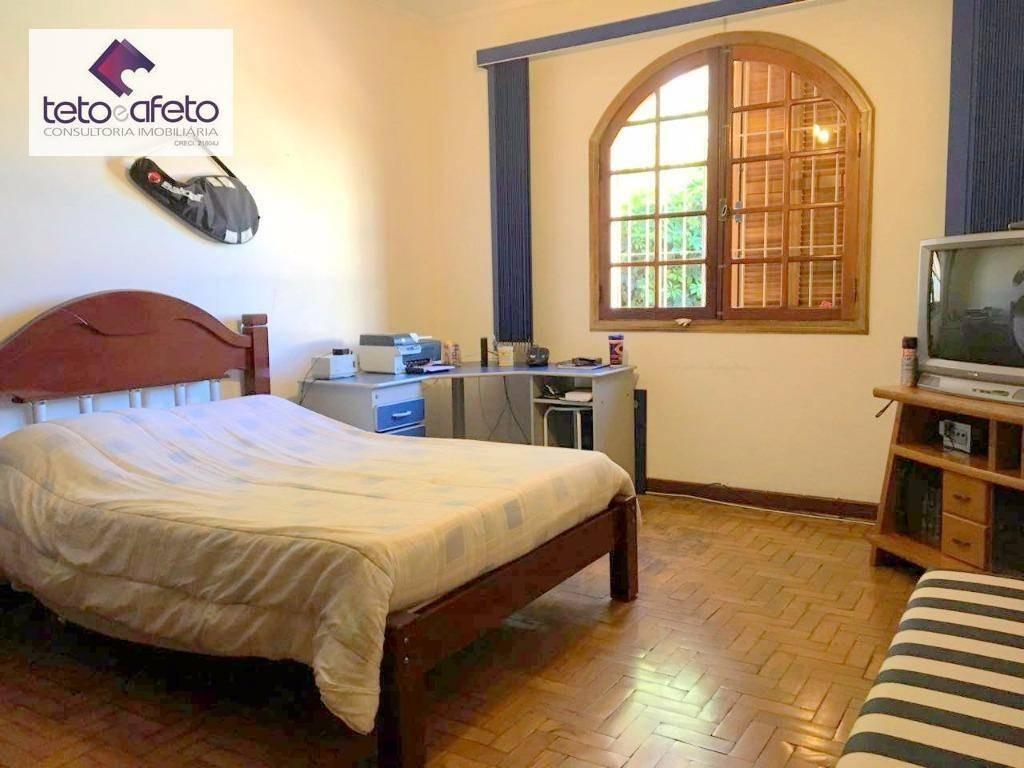 imobiliária em atibaia - casa térrea residencial à venda na vila santista em atibaia. bairro nobre. - ca2837