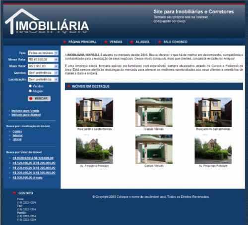 imobiliária em php com google maps integrado + instalação