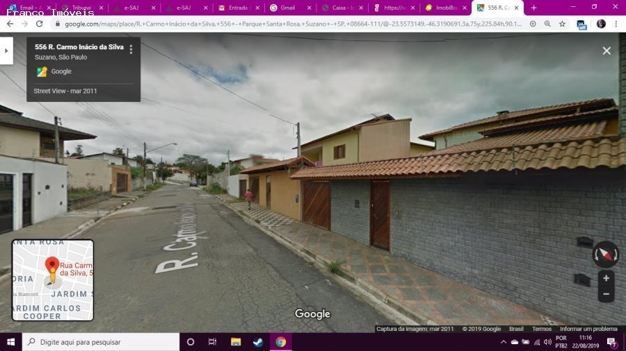 imóveis caixa econômica para venda em suzano, parque santa rosa, 2 dormitórios, 1 suíte, 3 banheiros, 2 vagas - francocai_2-940499