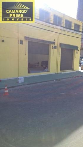 imóvel comercial de esquina uma boa localização proximo a 200 da rua butanta e av eusebio matoso. - eb81248