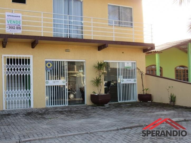 imóvel comercial e residencial próximo ao fórum de itapoá - 2186
