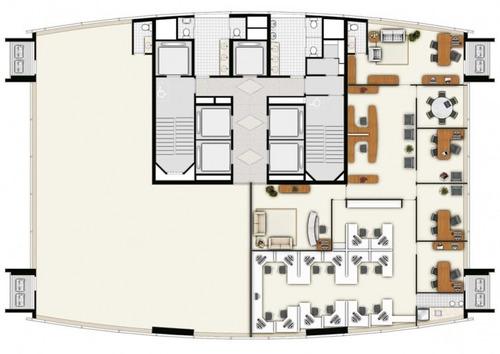 imóvel comercial em brooklin paulista, são paulo/sp de 257m² para locação r$ 20.000,00/mes - ac136049