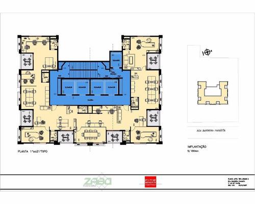 imóvel comercial em itaim bibi, são paulo/sp de 500m² para locação r$ 47.500,00/mes - ac105279