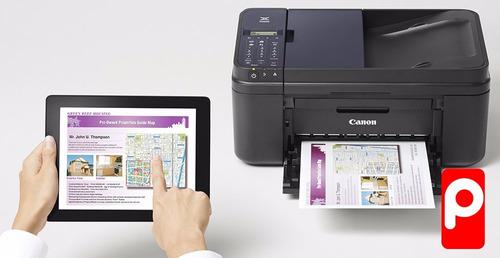 imp canon e481  multifuncional + sistema recarga + 1 tinta