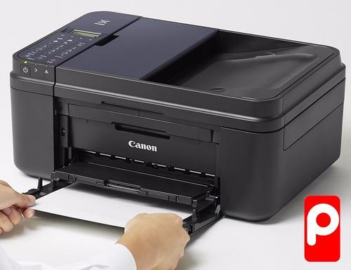 imp canon e481 multifuncional+sistema recarga copia oficio